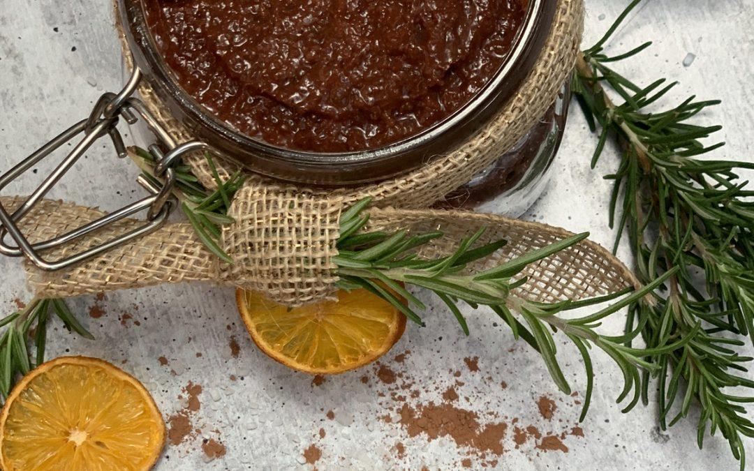 Chocolate Orange Scrub
